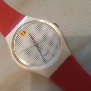 85 Swatch watch dotted swiss GW104